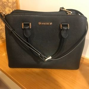 MICHAEL By Michael Kors Cindy Saffiano Satchel